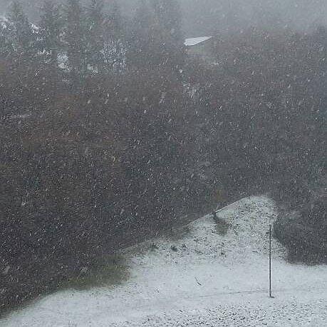 Nuova fase nevosa sui monti