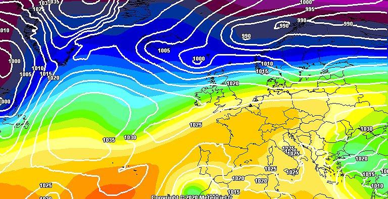 Alta pressione e caldo,incognita per settimana prossima