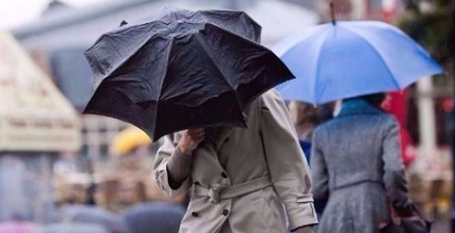 Vento e pioggia da venerdì